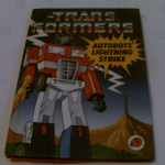 "The Transformers "" Autobots Lightning Strike "" Ladybird Book 1980's"